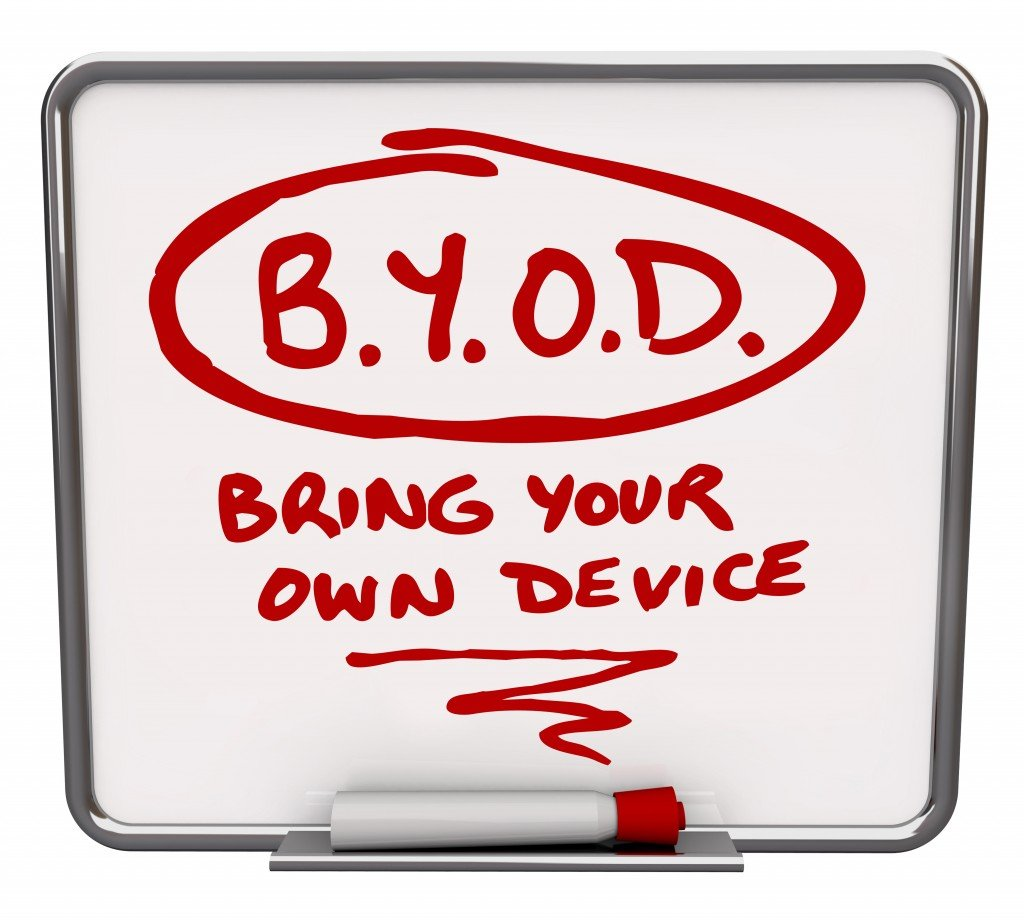 BYOD White Board Company Policy Bring Your Own Device