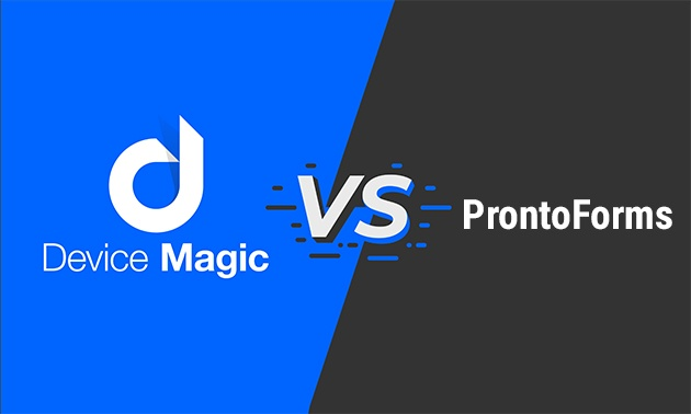 Device Magic vs Pronto Forms