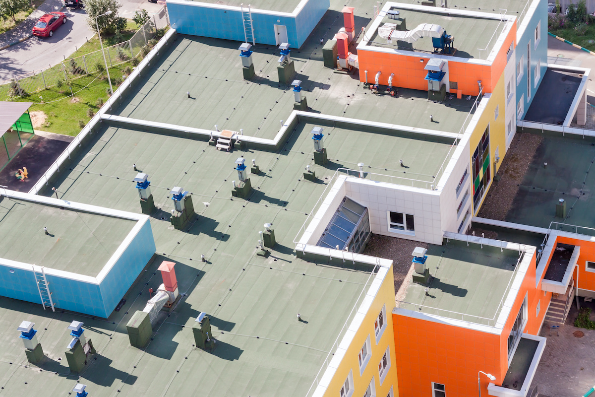 building roofs well maintained by roof inspection report tracking