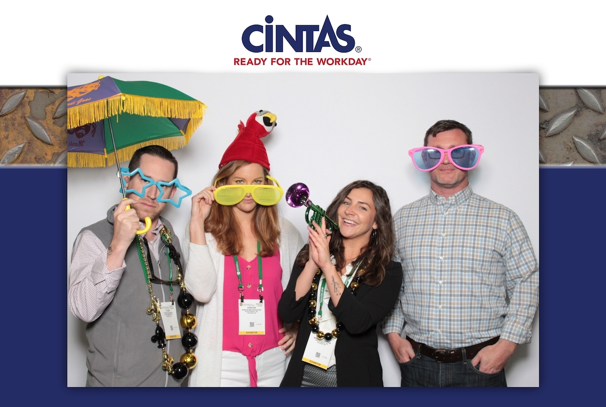 Device Magic team in photo booth at Safety conference New Orleans